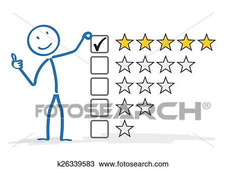 Drawing of Stickman 5 Stars Rating k26339583 - Search ...