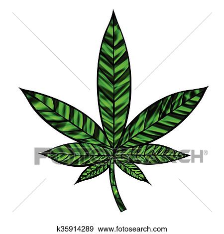 Clipart feuille cannabis k35914289 recherchez des cliparts des illustrations des dessins - Dessin feuille cannabis ...
