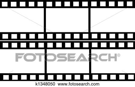 Stock Illustrations of Double Film Strip Frames k1348050 - Search ...
