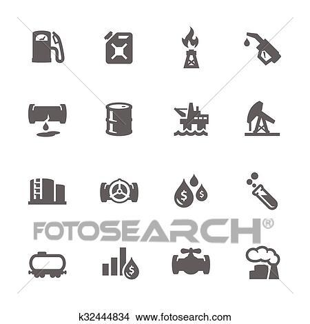 Clipart Simple Huile Icônes K32444834 Recherchez Des Clip Arts