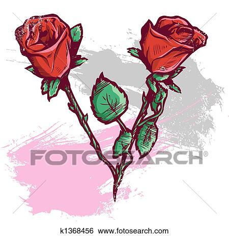 Banque D Illustrations Beau Saint Valentin K1368456 Recherche