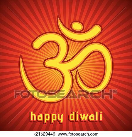 Clip art of creative diwali festival greeting k21529446 search creative diwali festival greeting card background vector m4hsunfo