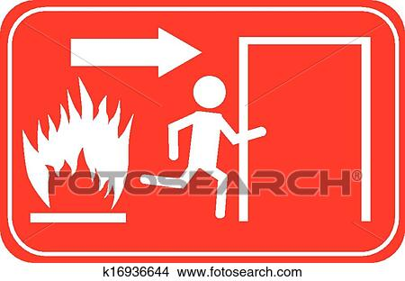 Exit Sign Text - Exit Sign Clipart - Full Size Clipart (#4042117) -  PinClipart