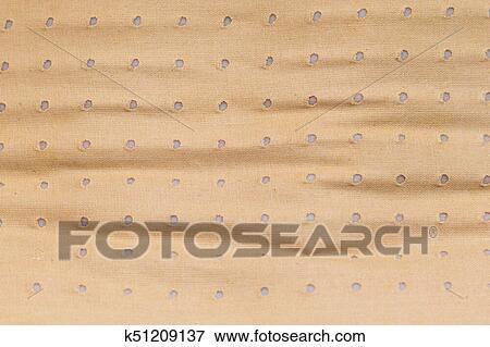 Heating pad, plaster bandage closeup Stock Photo