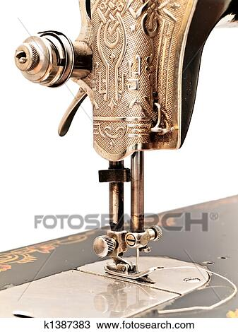 Stock Photo Of Old Sewing Machine K40 Search Stock Images Best Old Sewing Machine