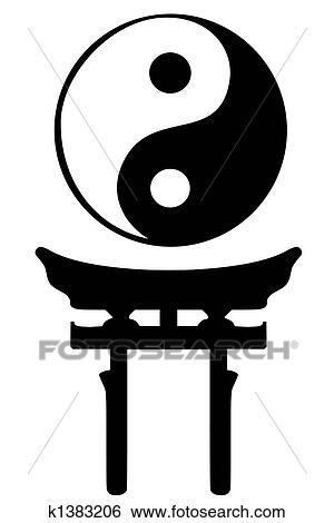 Stock Illustration Of Shinto Religious Symbols K1383206 Search
