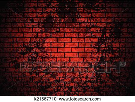 clipart sombre grunge rouge mur brique fond k21567710 recherchez des clip arts des. Black Bedroom Furniture Sets. Home Design Ideas