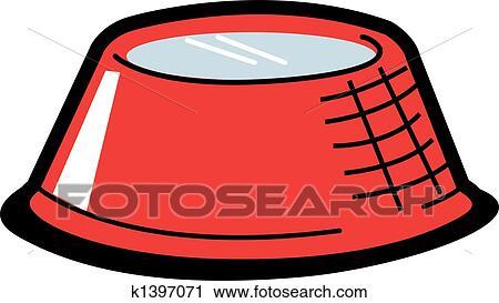clipart of dog bowl clip art k1397071 search clip art rh fotosearch com dog food bowl clipart dog food bowl clipart