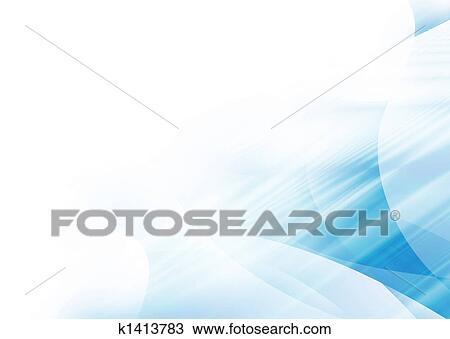 Dessin Vague Bleue Coin K1413783 Recherchez Des Cliparts Des
