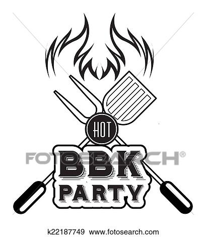 Stock Illustration Of Barbecue Grill K22187749