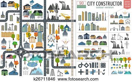 City map generator  City map city