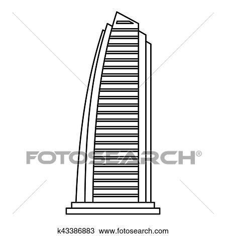 Kleurplaat Printen Van Rox Kleurplaat Burj Khalifa Kidkleurplaat Nl