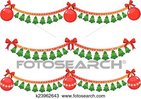 Christmas Garland Clipart