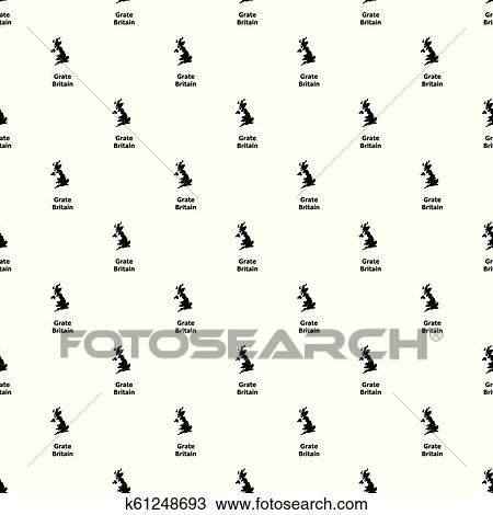 Clipart Of England Map Icon Simple Style K61248693 Search Clip