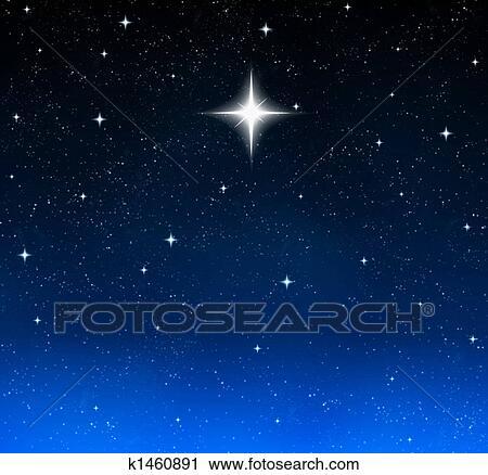 clipart toile brillante dans ciel nuit k1460891 recherchez des clip arts des. Black Bedroom Furniture Sets. Home Design Ideas