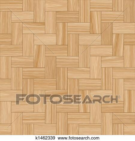 Smooth Wood Parquet Clean Floor Tiles Background