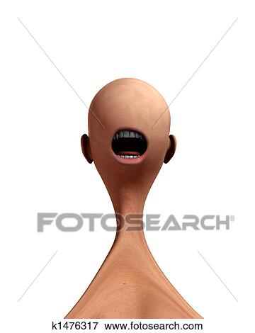 Stock Illustration Of Creepy Mouth Monster 2 K1476317 Search Eps