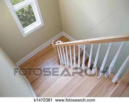 Gut bekannt Treppenhaus, fenster Stock Bild | k1472381 | Fotosearch YX03