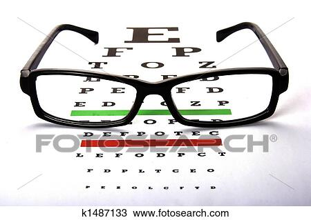 Stock Photo Of Eye Chart K1487133 Search Stock Images Poster