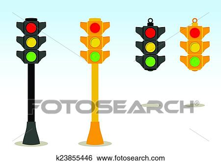 Hanging traffic light Clipart EPS Images. 21 hanging traffic light ...