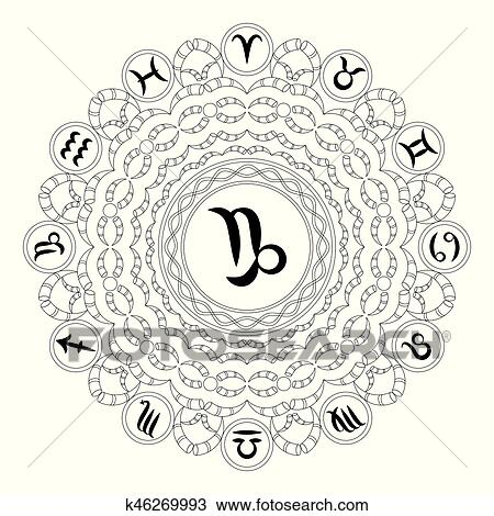 Zodiac coloring pages printable games | 470x450