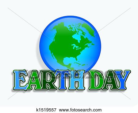 Stock Illustration Of Earth Day Graphic K1519557 Search Eps