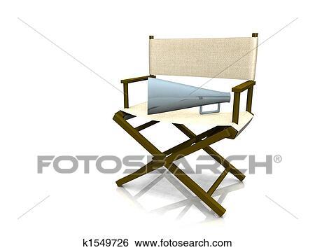 Banque d\'Illustrations - chaise directeur k1549726 - Recherche de ...