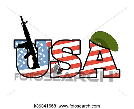 clip art of us army emblem flag of united states military green rh fotosearch com us army clip art official us army clipart black and white