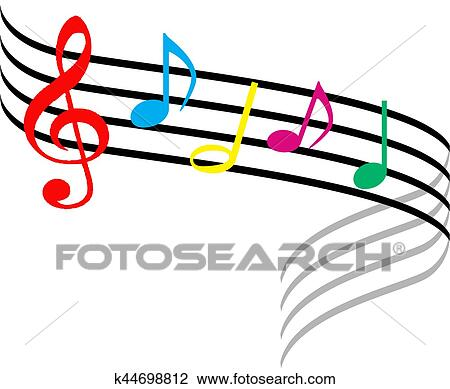 Stock Photo Of Musical Symbols K44698812 Search Stock Photography