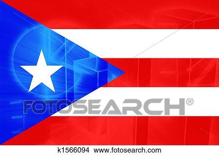 dibujos bandera de puerto rico k1566094 buscar clip art