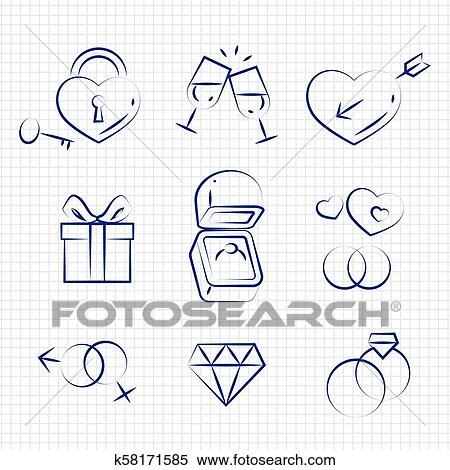 Indian Wedding Line Art - Indian Wedding Transparent Hd Wedding Clipart  Png, Png Download - 640x480(#211483) - PngFind