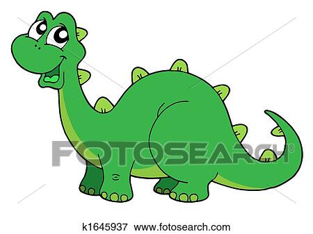 かわいい 恐竜 イラスト K1645937 Fotosearch