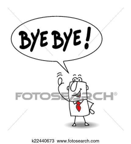 Bye Bye Clipart K22440673