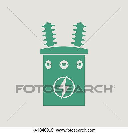 Clipart - elektrisch, transformator, symbol k41846953 - Suche Clip ...