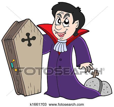Dessin vampire cercueil et tombes k1661703 - Dessins de vampires ...