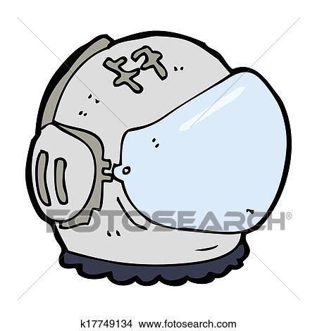drawings of cartoon astronaut helmet k17749134 search clip art rh fotosearch com astronaut helmet clipart png