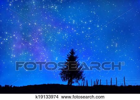 Disegni Cielo Stellato K19133974 Cerca Illustrazioni Clipart