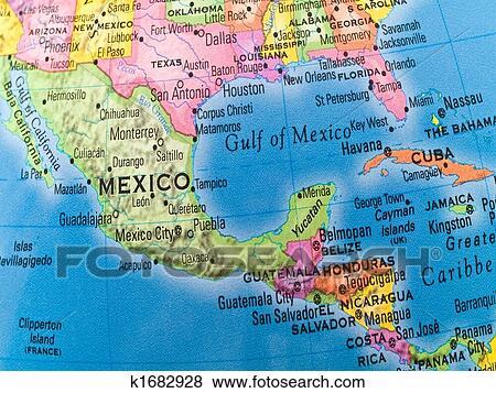 Cartina Politica Messico.Cartina America Centrale