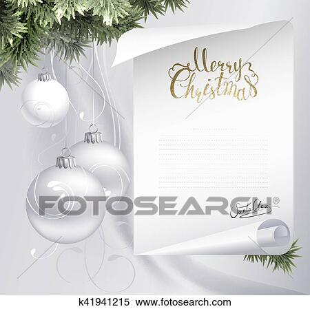 free santa signature clipart