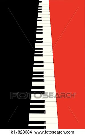 Clipart Of Piano Concert Poster K17828684