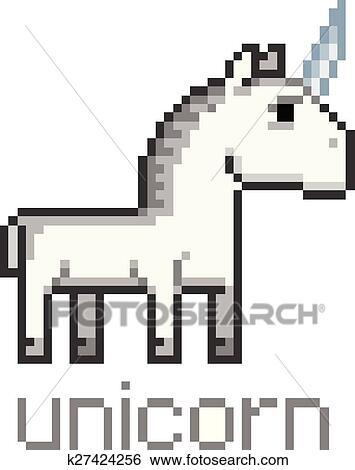 Clipart Pixel Licorne K27424256 Recherchez Des Cliparts Des