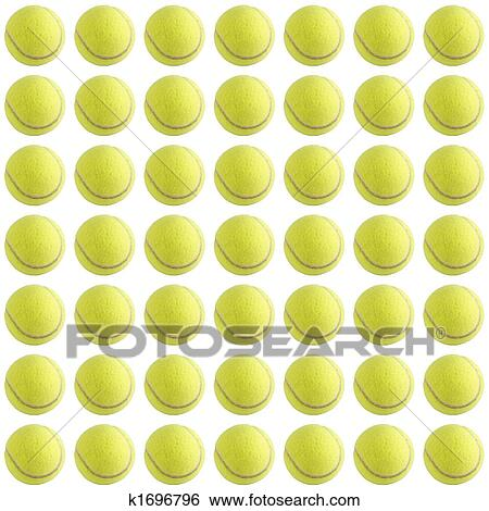 Stock Illustration Of Tennis Ball Background K1696796 Search Clip