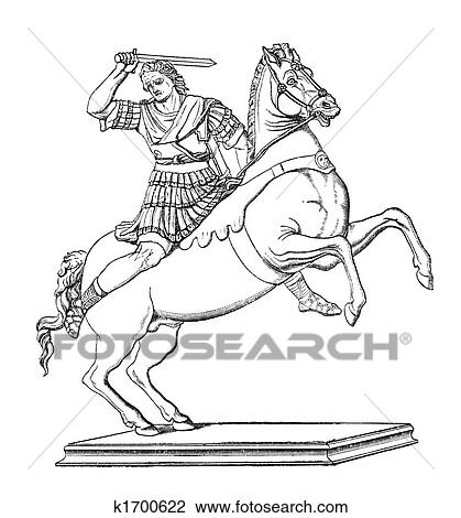 clip art of alexander the great k1700622 search clipart