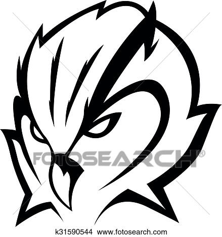 Owl Head Illustration Design Clipart K31590544 Fotosearch