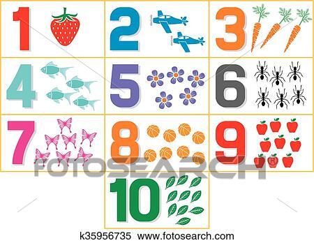 Clipart - aprendizaje, colores, para, niños k35956735 - Buscar Clip ...
