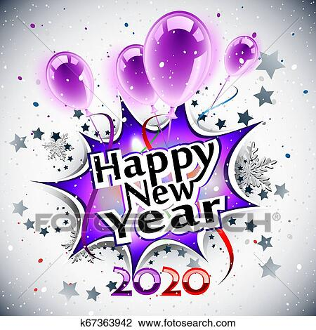 Happy New Year Clipart 2020 95
