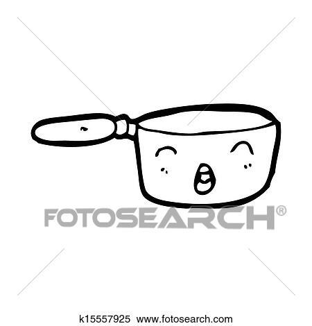 Dessin Casserole Cuisine banque d'illustrations - dessin animé, cuisine, casserole k15557925