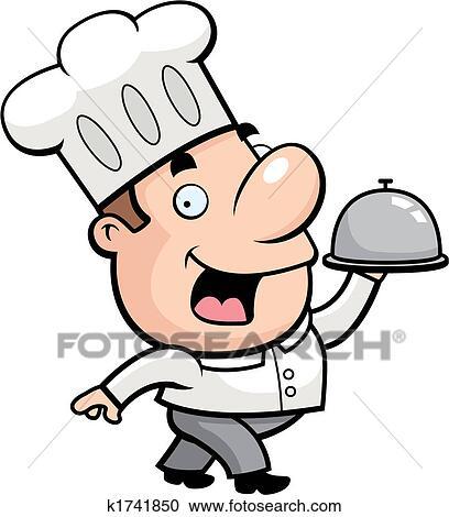 clipart of cartoon chef k1741850 search clip art illustration rh fotosearch com chef clip art black men chef clip art free