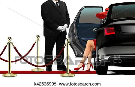 femme riche cherche chauffeur)