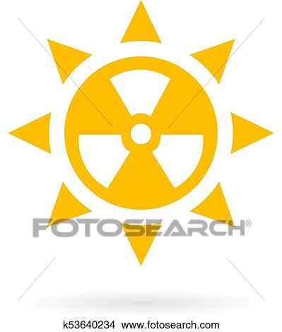 clipart of sun radiation vector icon k53640234 search clip art rh fotosearch com cute sun clipart vector sun and clouds clip art vector